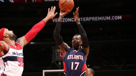Video - Hawks Stun Wizards