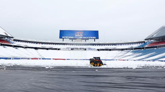 Bills To Have Home Field Back For Browns Game