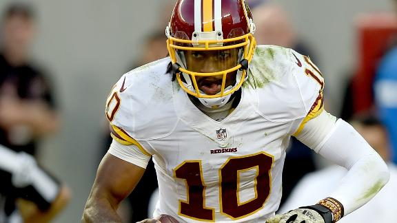 Redskins To Bench Robert Griffin III