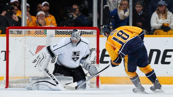 Video - Neal Lifts Preds Over Kings