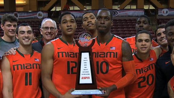 Miami Wins Charleston Classic