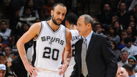 Video - Spurs Top Pacers Without Popovich