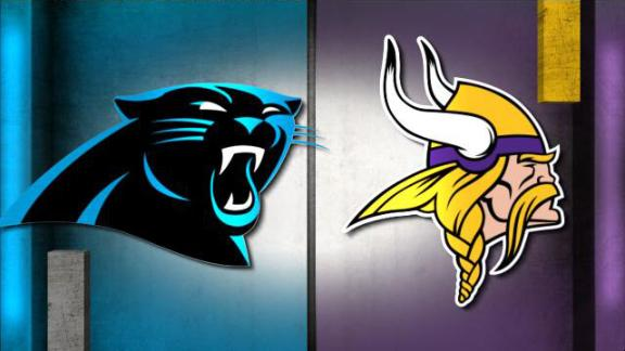 NFL Live Prediction: Panthers-Vikings