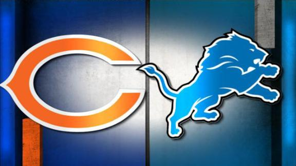 Video - NFL Live Prediction: Bears-Lions
