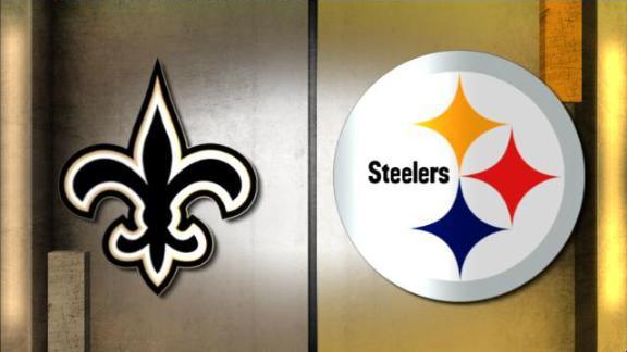 Video - NFL Live Prediction: Saints-Steelers
