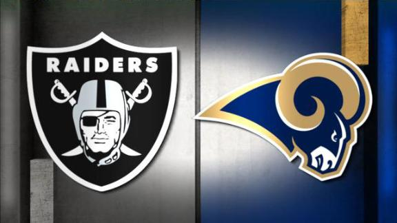 NFL Live Prediction: Raiders-Rams