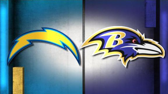Video - NFL Live Prediction: Chargers-Ravens