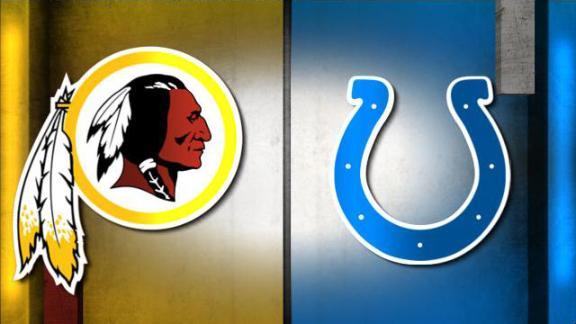 NFL Live Prediction: Redskins-Colts