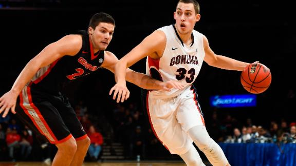 Wiltjer Lifts Gonzaga Past Georgia
