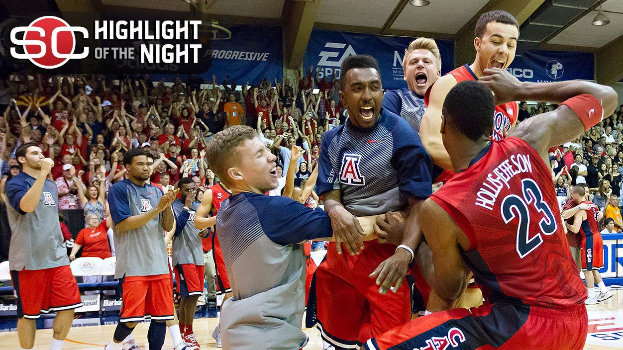 Arizona Hangs On To Top San Diego State