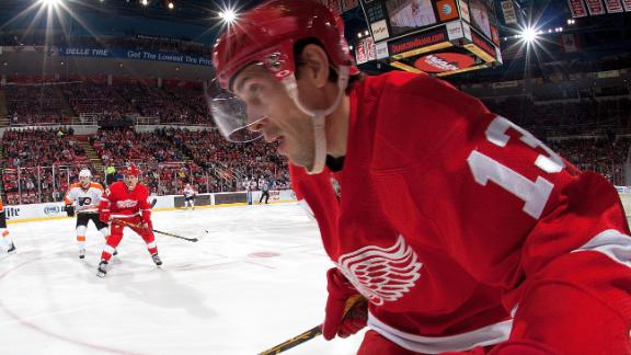 Video - Red Wings Skate Past Flyers