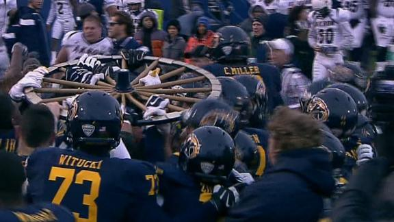 Kent State Surges In Final Minute