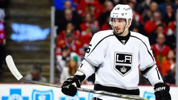 Voynov Skates With Teammates; Kings Fined $100K