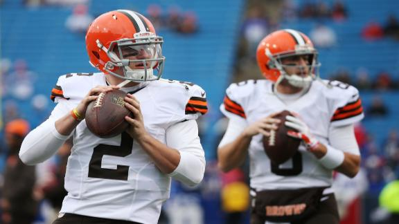 Should The Browns Have Given The Ball To Manziel?