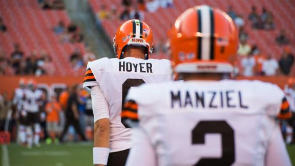 Hoyer To Start Against Colts On Sunday