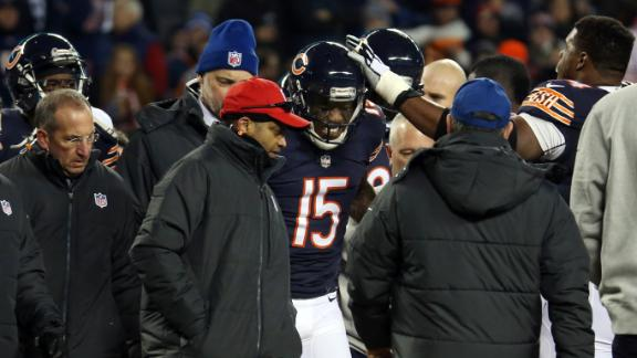 Bears' Marshall Done For Season