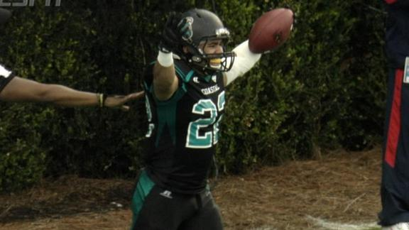 Coastal Carolina Advances In FCS Playoffs