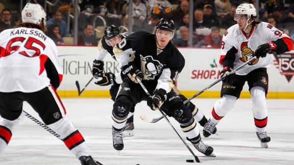 Video - Ehrhoff's Late Goal Lifts Penguins