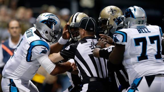 Brawl Erupts As Panthers Crush Saints
