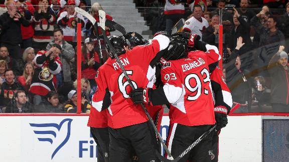 Video - Senators Win In OT