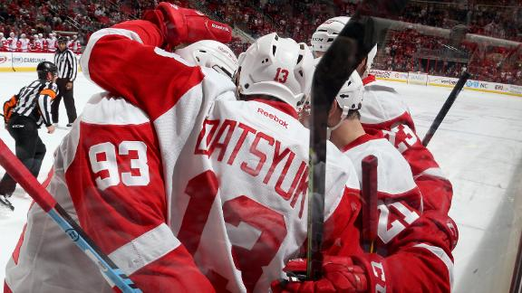 Video - Tatar Leads Red Wings Past Hurricanes