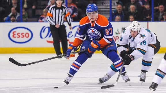 Video - Oilers Top Sharks