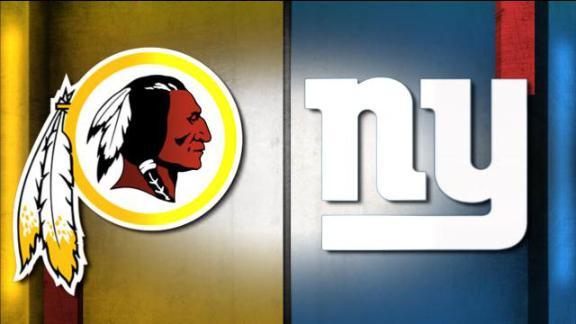 NFL Live Prediction: Redskins-Giants