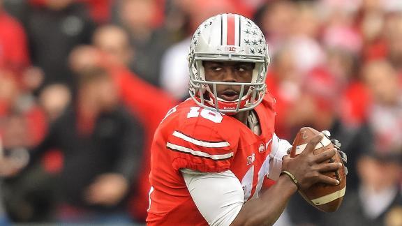 OSU QB Barrett, Ex-Girlfriend Allege Abuse