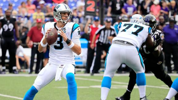 Panthers Give The Ball To QB Derek Anderson