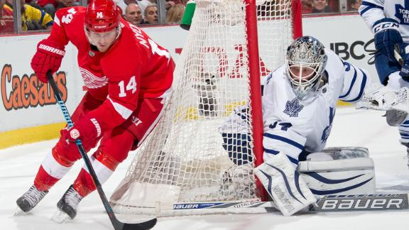 Video - Reimer, Leafs Top Red Wings In Shootout
