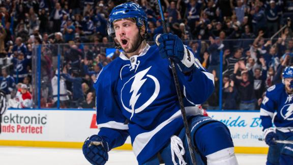 Video - Kucherov Carries Lightning Past Canes