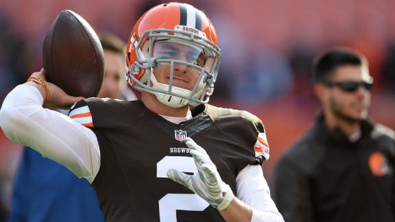 Expect Mixed Bag From Johnny Manziel In First Browns Start At QB