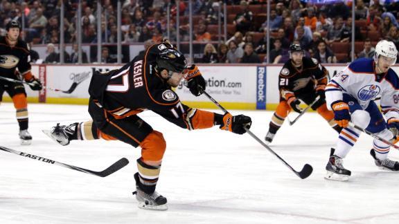 Video - Kesler's Goal Sends Ducks Past Oilers