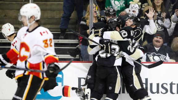 Video - Penguins Cool Off The Flames