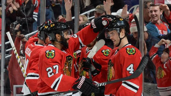 Video - Blackhawks Give Flames Fifth Straight Loss