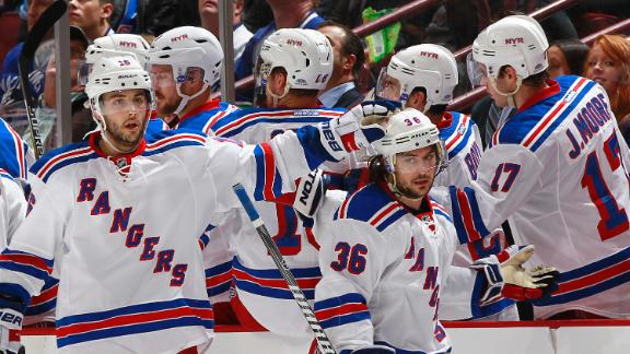 Video - Zuccarello Scores Twice In Rangers' Win