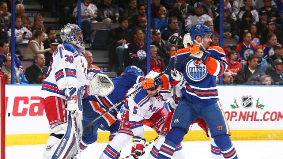 Video - Rangers Shut Out Oilers