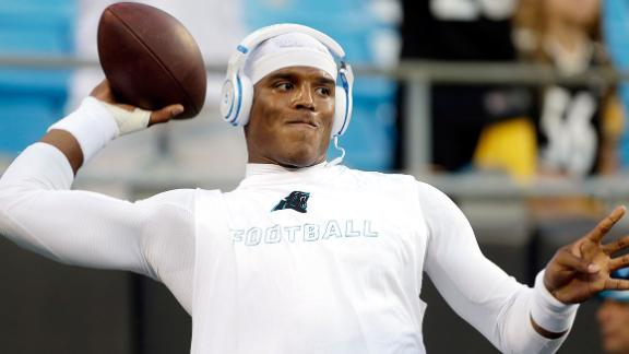 Panthers Won't Rush Newton Back