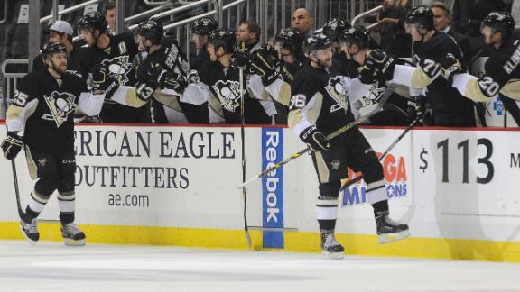 Video - Penguins Double Up Lightning