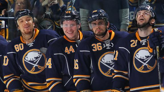 Sabres Edge Senators