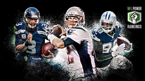 NFL Power Rankings: Week 16