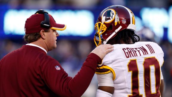 Gruden, RG III Dysfunction Continues