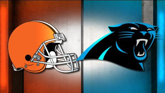 NFL Live Prediction: Browns-Panthers