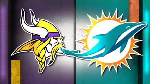 NFL Live Prediction: Vikings-Dolphins