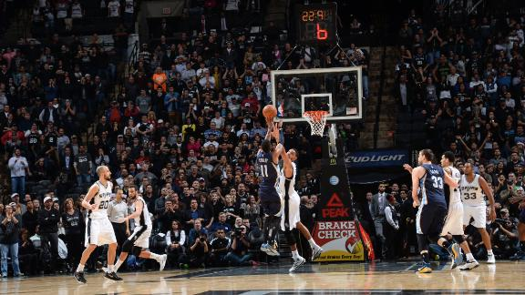 Grizzlies Top Spurs In 3OT Thriller