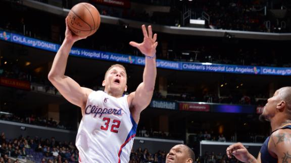 Clips edge Pacers as Griffin, Jordan go big