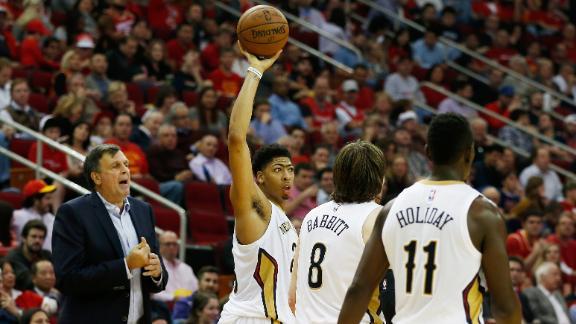 Davis powers Pelicans over Harden, Rockets