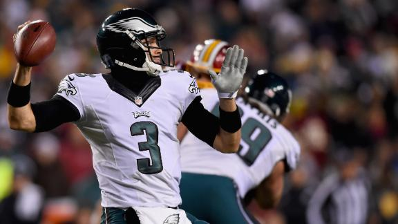 Sanchez's Late Interception Hurts Eagles
