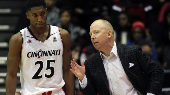 Cincinnati Coach Cronin Out Indefinitely