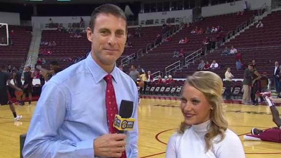 Horn interviews Arkansas' Patience Beard